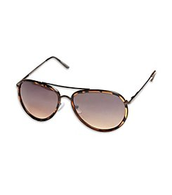 True Nation™ Men's Big & Tall Aviator Metal Sunglasses