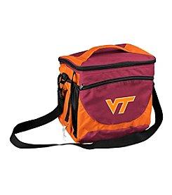 Virginia Tech Logo Chair 24 Can Cooler