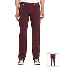 Levi's® Men's 505 Regular Fit Slub Twill