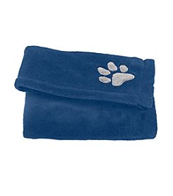 John Bartlett Pet Blue Micro Cozy Throw