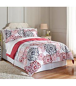 LivingQuarters Lolita Floral Microfiber Down-Alternative Comforter or Shams