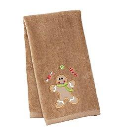 Saturday Knight, Ltd.® Gingerbread Man Treat Hand Towel