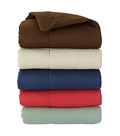 Blue Ridge Home Fashions Microfiber Down-Alternative Throw
