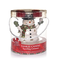 Yankee Candle® Cinnamon Scent Snowman Luminary