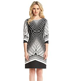Nine West® Geometric Shift Dress