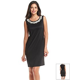 Connected® Jewelneck Prada Sheath Dress