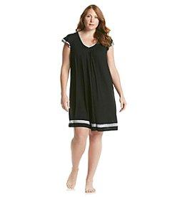 Ellen Tracy® Plus Size Chemise - Black