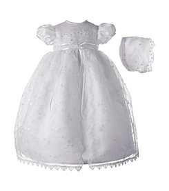 Lauren Madison® Baby Girls' Organza Split Front Dress
