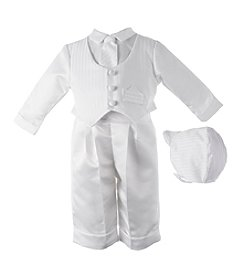 Lauren Madison® Baby Boys Satin Vest And Pants Set
