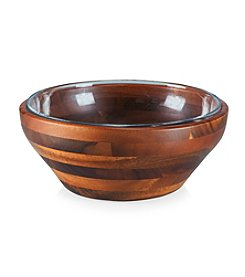 Heritage Collection by Fabio Viviani Legacy® Carovana Acacia Nested Salad or Serving Bowls