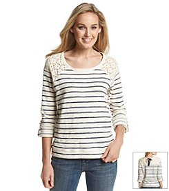 Fever™ Stripe Sweatshirt