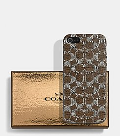 COACH IPHONE CASE IN SIGNATURE C MOLDED PLASTIC