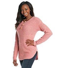 Ruff Hewn Petites' Henley Sweater