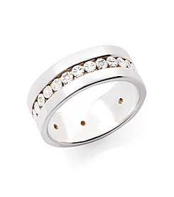 0.03 ct. t.w. Diamond Band Ring in Sterling Silver