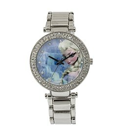 Accutime Youth Frozen® Elsa Bracelet Stone Watch