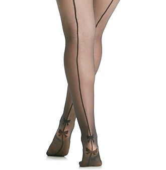 3a461a50fd73d EAN 5053014114800 product image for Pretty Polly Curves Backseam with Bow  Plus Size Tights | upcitemdb ...