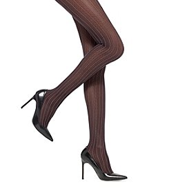 HUE® Pindot Diamond Sheer Control Top Tights
