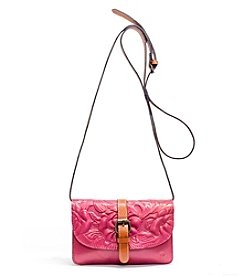 Patricia Nash Torri Tooled Rose Crossbody