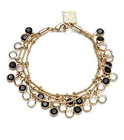 Anne Klein® Jet Shaky Bracelet