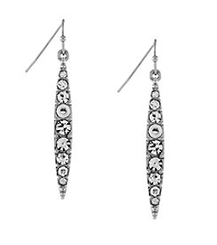 Jessica Simpson Pave Drop Earrings