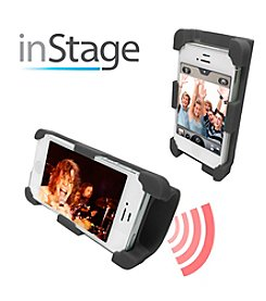 Datexx® inStage Silicone Horn-Stand Amplifier for iPhone 4