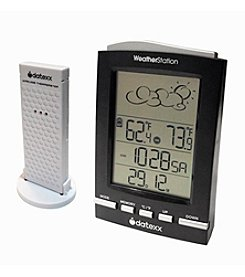 Datexx® 5-Step Weather Forecast Station with Wireless Indoor/Outdoor Sensor