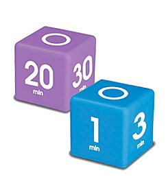 Datexx® Set of 2 Purple and Blue Miracle Cube Timers