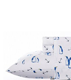 Nautica® Albion Flannel Sheet Set