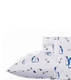 Nautica® Albion Flannel Sheet Set