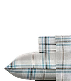 Nautica® Willowbrook Plaid Flannel Sheet Set