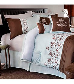 Lavish Home Hannah Embroidered 7-pc. Comforter Set