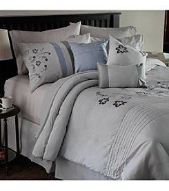 Lavish Home Daniela Embroidered 7-pc. Comforter Set