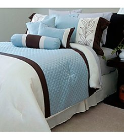 Lavish Home Samantha Embroidered 7-pc. Comforter Set