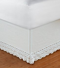 Greenland Home® Crochet Lace Bed Skirt