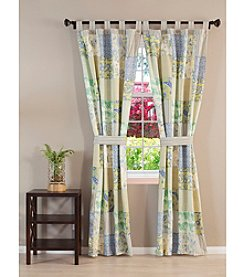 Greenland Home® Patchwork Jade Window Treatment