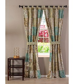 Greenland Home® Patchwork Vintage Paisley Window Treatment