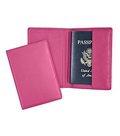 Royce® Leather Passport Jacket Travel Wallet