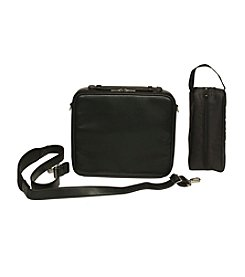 Royce® Leather Executive Rolling Laptop Briefcase