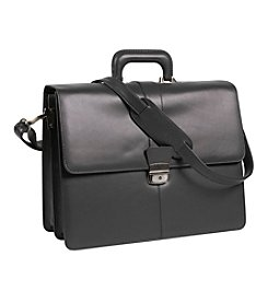 Royce® Leather Legal Briefcase with Brass Fixings