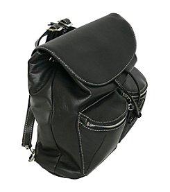 Royce® Leather Lightweight Shoulder Backpack Bag