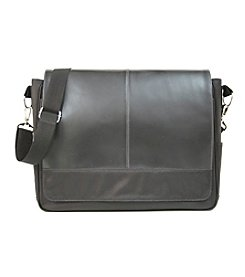 Royce® Leather Lightweight Laptop Messenger Bag
