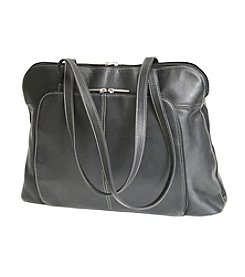 Royce® Leather Executive Colombian Vaquetta Leather Tote