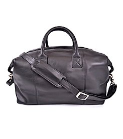 Royce® Leather Travel Overnight Duffel Bag