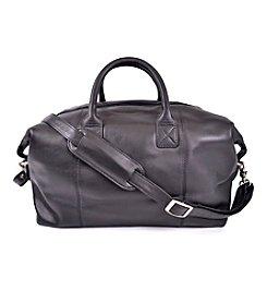 Royce® Leather Travel Overnight Duffel Bag