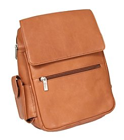 Royce® Leather Vaquetta Leather iPad Tablet Backpack