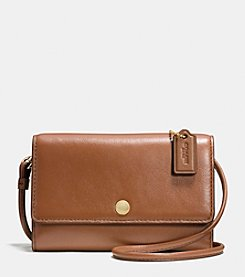COACH PHONE CROSSBODY IN LEATHER