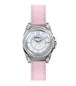 Breil Women's Manta Watch with Pink Strap