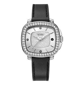 Breil Women's Capital Watch with Black Strap