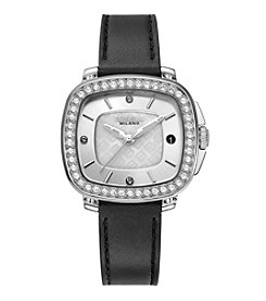 Breil Women's Capital Watch with Black Strap