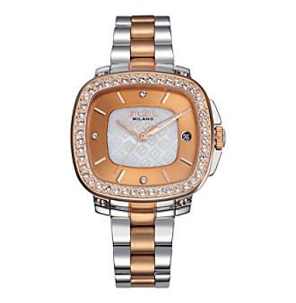 Breil Women's Capital Watch with Two-Tone Bracelet
